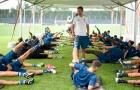 Allegri trở lại, buổi tập của Juventus đã dần nhộn nhịp