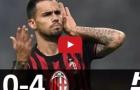 Highlights: FC Lugano 0-4 AC Milan (giao hữu)