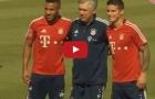 James Rodriguez và Corentin Tolisso trong buổi tập đầu tiên cùng Bayern Munich