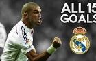 Tất cả 15 bàn thắng của Pepe cho Real Madrid