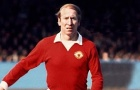 Bobby Charlton, số 9 huyền thoại của Man Utd