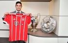 James Rodriguez lập kỷ lục bán áo ngày ra mắt Bayern Munich