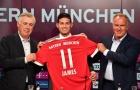 James Rodriguez nói gì trong lần đầu ra mắt Bayern?