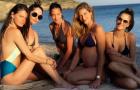 Alessandra Ambrosio và dàn siêu mẫu quẩy tưng bừng trên bãi biển Ibiza