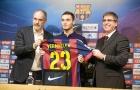 Màn trình diễn của Vermaelen trong màu áo Barca