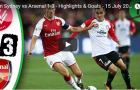 Highlight: Western Sydney 1-3 Arsenal (Giao hữu CLB)
