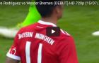 James góp công vào cả 2 bàn thắng trong trận ra mắt Bayern