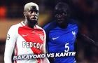 Sự kết hợp tuyệt vời giữa N'Golo Kante và Tiemoue Bakayoko