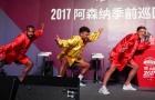 Lacazette cùng dàn sao Arsenal tự tin múa quyền tại Thượng Hải