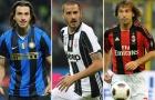 Leonardo Bonucci & 6 danh thủ từng khoác áo Inter, Milan và Juventus