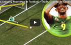 Những khoảnh khắc 'nhọ' nhất trong bóng đá