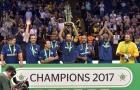 Pires và các đồng đội đăng quang ở giải Star Sixes