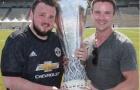 Sao Game of Thrones thích thú khi được Man Utd trao cúp tại Mỹ