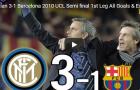 Trận cầu kinh điển: Inter Milan 3-1 Barca (Bán kết UCL 2010)