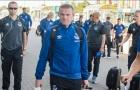 Rooney và dàn sao Everton mệt mỏi di chuyển tới Hà Lan