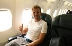 Harry Kane rạng rỡ cùng Tottenham bay sang Mỹ du đấu