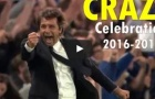 Những màn ăn mừng 'quá cỡ' của Antonio Conte tại Chelsea