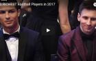 10 cầu thủ giàu nhất năm 2017