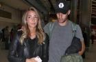 Morata được vợ tháp tùng đến ký hợp đồng với Chelsea