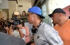 Ronaldo bay đến Singapore để thăm cháu ngoại Peter Lim