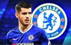 Alvaro Morata ở đâu trong Top 10 bản HĐ đắt giá nhất lịch sử Chelsea?