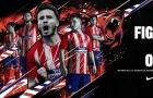 Atletico Madrid ra mắt áo đấu mùa mới đầy 'phá cách'