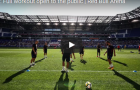 Các cầu thủ Barca đá bóng ma siêu đẳng khiến fan Mỹ hò hét