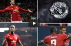 Khả năng tấn công đáng sợ của Manchester United mùa 2017/18