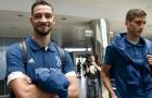 Vừa xong hợp đồng, De Sciglio đã tức tốc bay sang Mỹ hội quân Juventus
