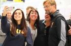 Liverpool được NHM chào đón nồng nhiệt khi vừa trở lại Anh