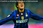 Philippe Coutinho thời còn chơi cho Inter Milan