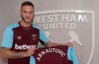 Sau Chicharito, West Ham lập kỷ lục với Arnautovic