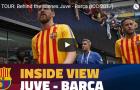 Neymar vẫy tay chào các CĐV trước trận Juventus