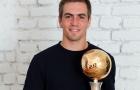 Philipp Lahm nhận danh hiệu cuối cùng trong sự nghiệp