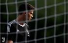 Szczesny đầy căng thẳng trong lần đầu tập cùng Juventus