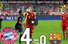 Trận cầu kinh điển: Bayern 4-0 Barca (UCL 2013)