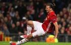 Ibrahimovic gục ngã và báo động về chấn thương dây chằng đầu gối tại Anh