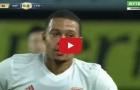 Màn trình diễn của Memphis Depay vs Inter Milan