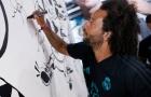 Marcelo trổ tài lẻ trong ngày gặp gỡ khán giả Los Angeles