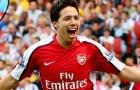 Samir Nasri thời còn khoác áo Arsenal