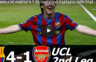 Trận cầu kinh điển: Barca 4-1 Arsenal (UCL 2009/10)