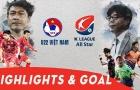 U22 Việt Nam 1-0 Các ngôi sao Hàn Quốc (Giao hữu Quốc tế)