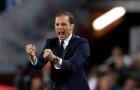 Allegri hài lòng với diện mạo mới của Juventus