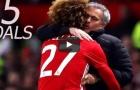 15 bàn thắng của Marouane Fellaini cho Man Utd