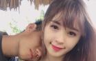 Cầu thủ U20 Việt Nam công khai bạn gái mới xinh như hotgirl