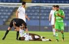 Ra mắt Leicester được 17 phút, Iheanacho đã phải lên cáng