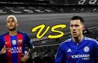 So sánh kỹ năng Neymar vs Hazard