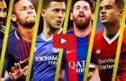 Top 20 pha solo ghi bàn đẹp nhất năm 2017