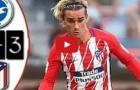 Highlights: Brighton 2-3 Atletico Madrid (giao hữu)