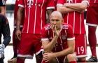 Robben suy tư trong ngày Bayern Munich chụp ảnh kỉ yếu